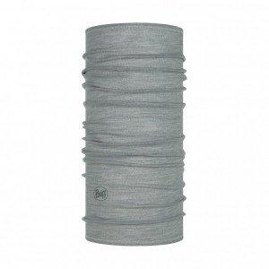 Merinowolle Multifunktionstuch Lightweight Solid Light Grey