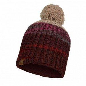 Strick & Polar Mütze Alina Maroon