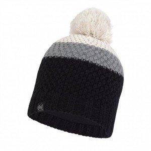 Strick & Polar Mütze Noel Black